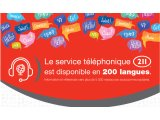 211 Greater Montreal Service Available in 200 Languages