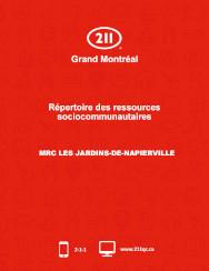 Couverture du répertoire de la MRC des Jardins-de-Napierville